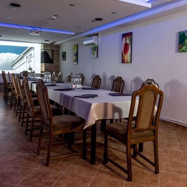 Étterem, pince - Vitis Hotel Villány
