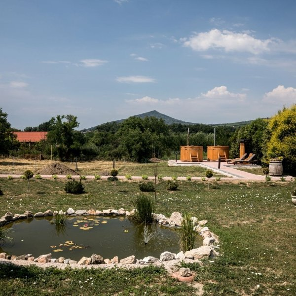 Terasz és kert - Vitis Hotel Villány